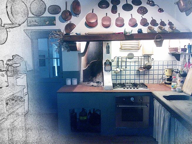 le cucine a legna